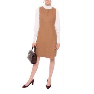 Weekend Maxmara Camel Fulvia Wool Dress